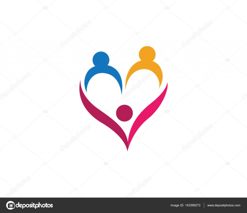 Love Family care logos and symbols — Stock Vector © elaelo ...