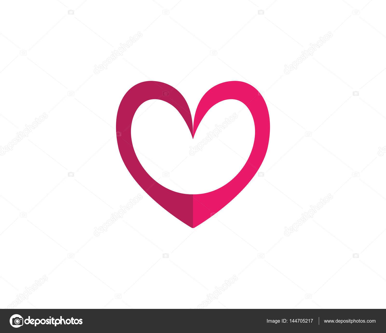Love Logo Vector Template Signs And Symbols Stock Vector Elaelo