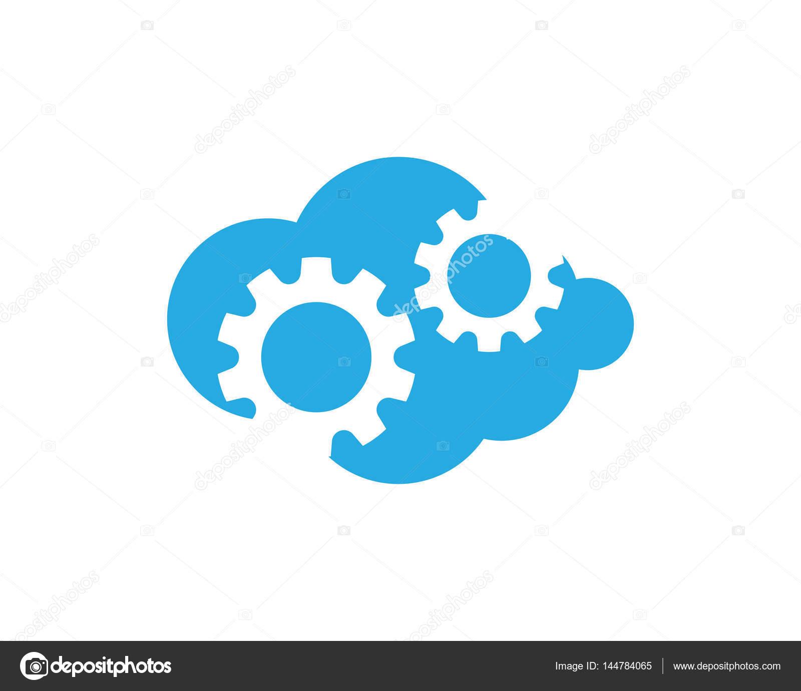 Cloud-Logo und Vorlage — Stockvektor © elaelo #144784065