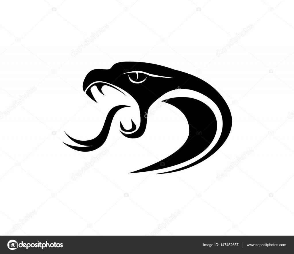 cobra logo template design in a triangle vector illustration stock vector c elaelo 147452657 https depositphotos com 147452657 stock illustration cobra logo template design in html
