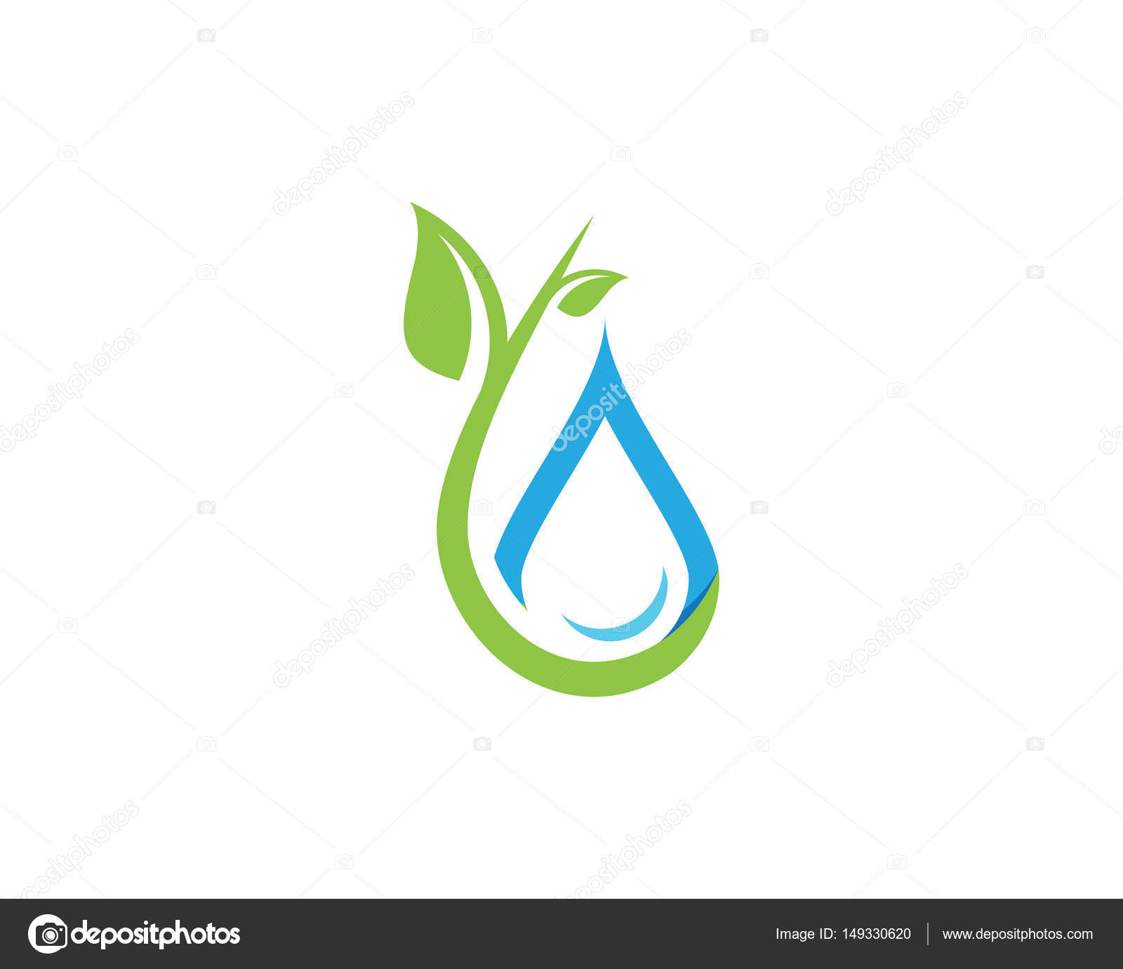 Water drops logo and symbols stock vector elaelo 149330620 water drops logo and symbols stock vector biocorpaavc Image collections