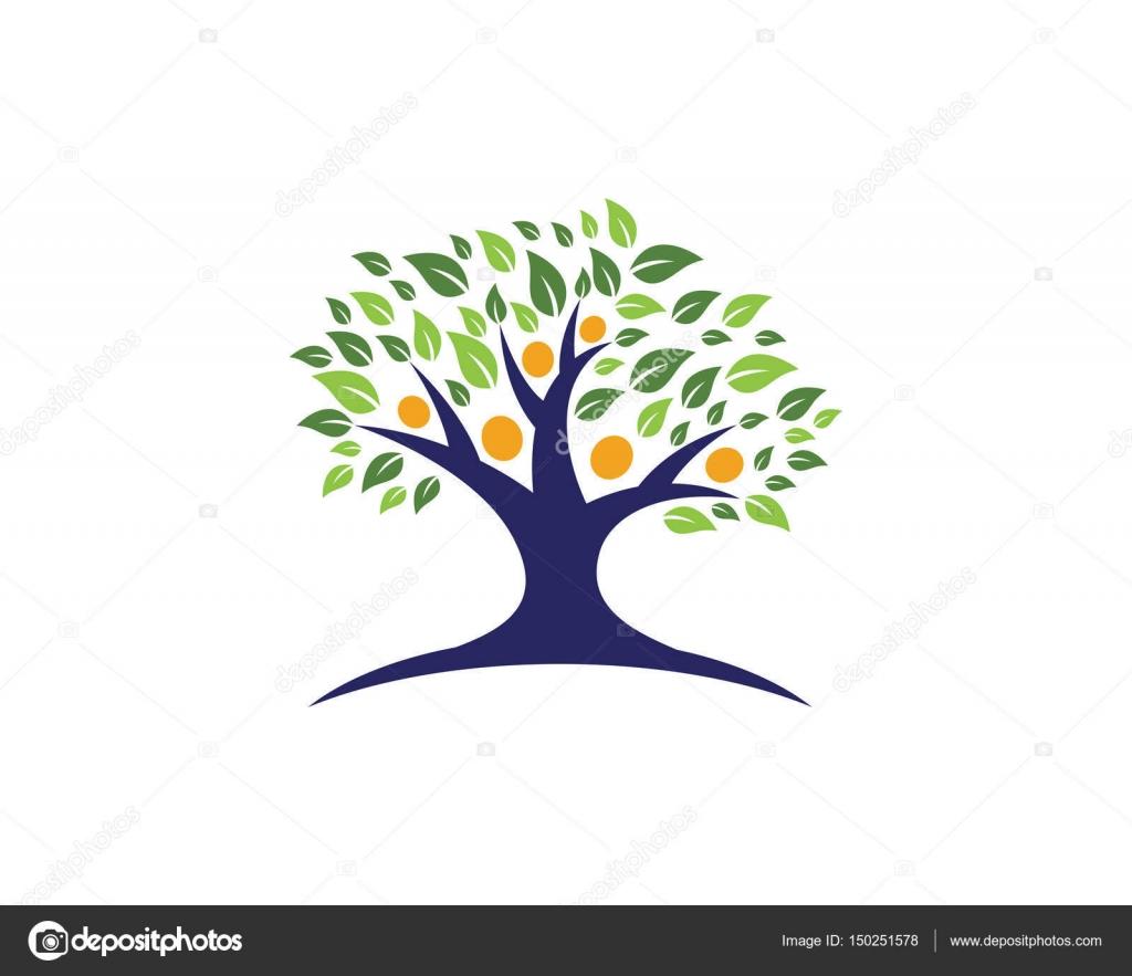 Vector - plantilla de logotipo de vector de árbol gente verde ...