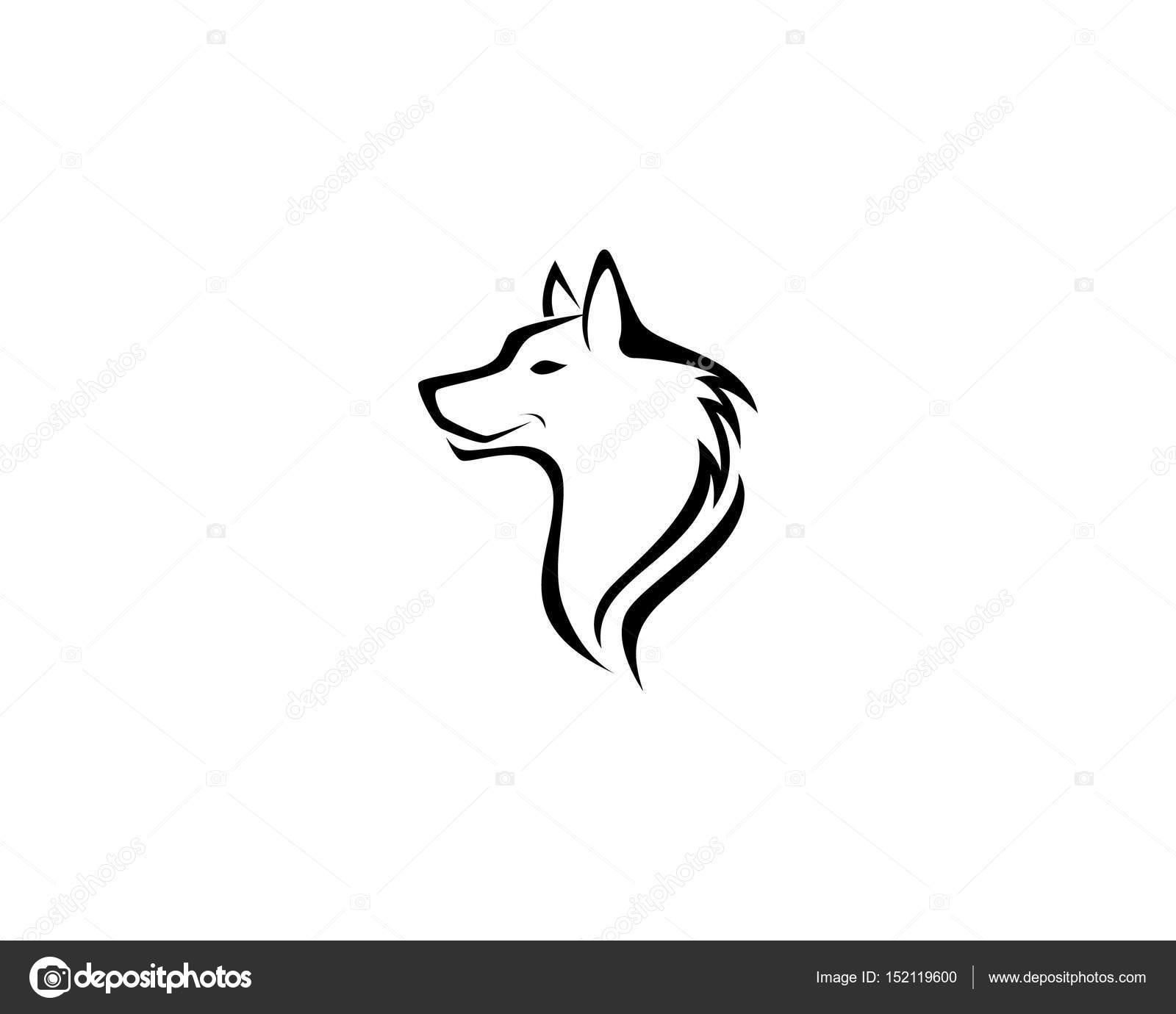 Wolf Logo Vorlagen Und Symbole Vorlage Stockvektor Elaelo 152119600
