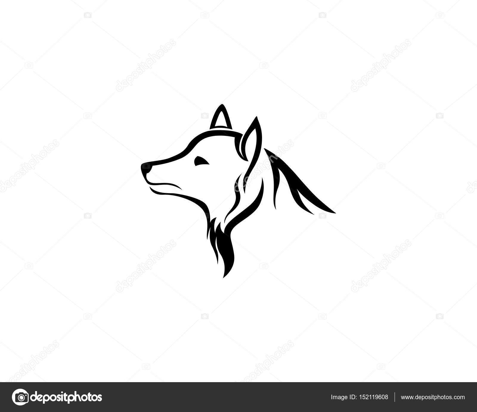 Wolf Logo Vorlagen Und Symbole Vorlage Stockvektor Elaelo 152119608