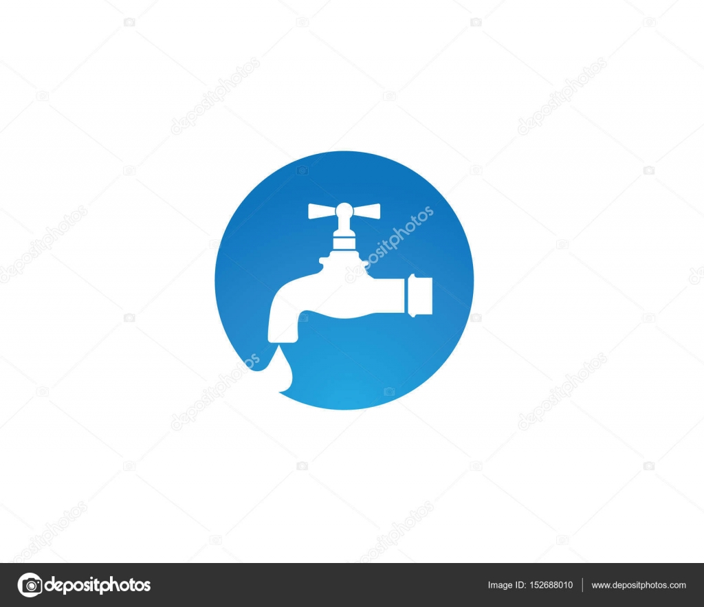 water faucet logo and symbols — Stock Vector © elaelo #152688010