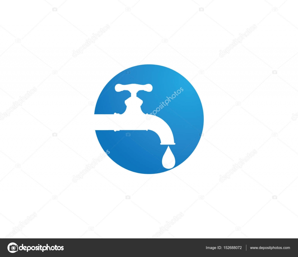 water faucet logo and symbols — Stock Vector © elaelo #152688072
