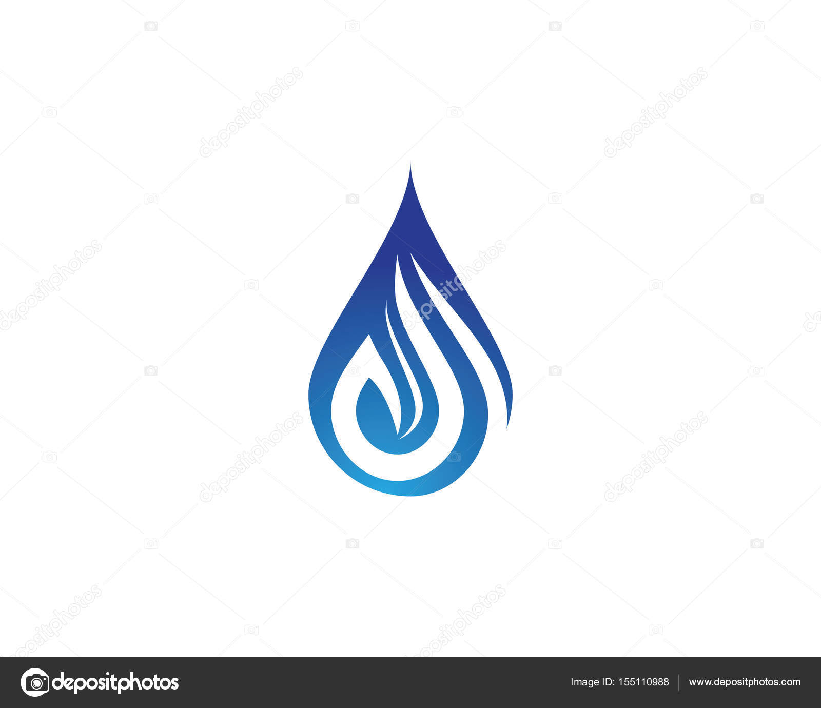 Water drops logo and symbols stock vector elaelo 155110988 water drops logo and symbols stock vector biocorpaavc Image collections
