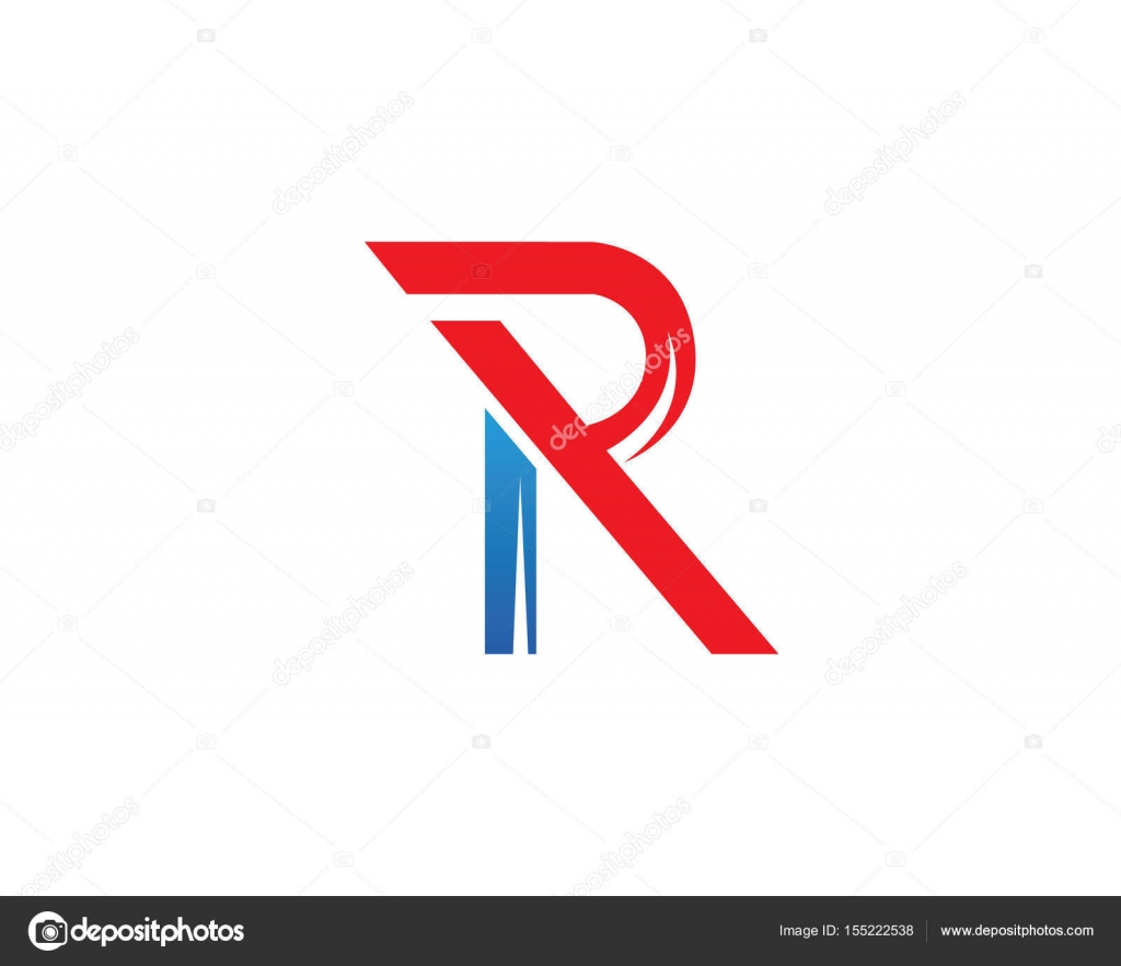 R Letters Logo And Symbols Stock Vector Elaelo 155222538