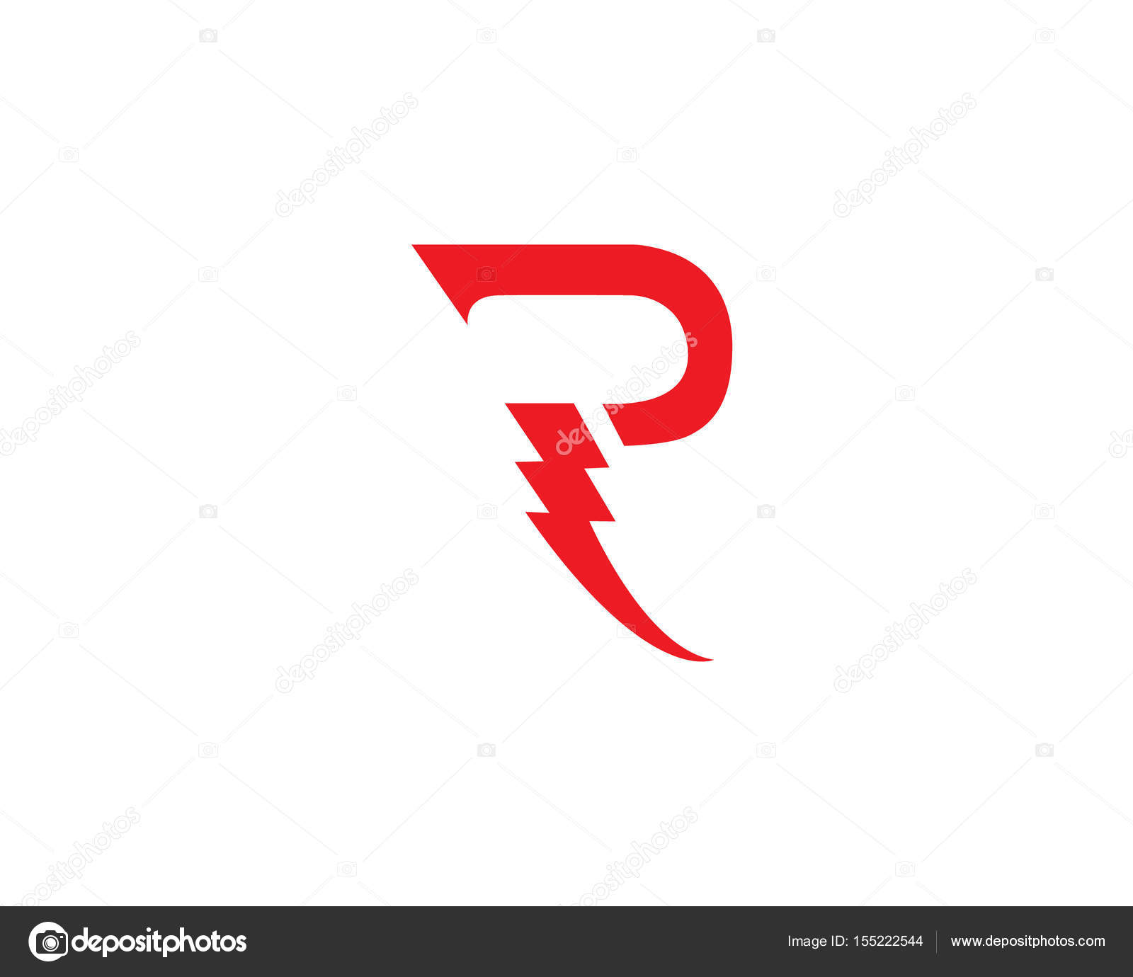 R Letters Logo And Symbols Stock Vector Elaelo 155222544