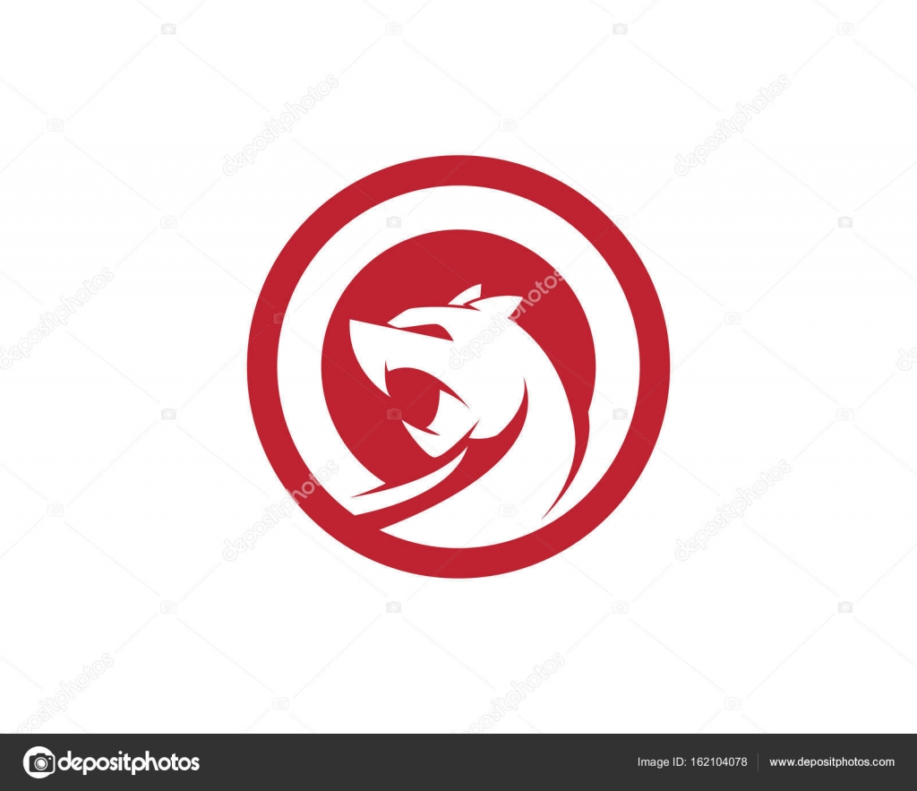 Cheetah logo template vector icon illustration design — Stock Vector ...