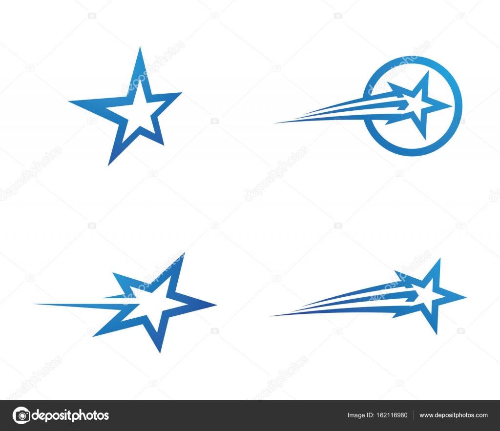 Sterne-Logo Vorlage — Stockvektor © elaelo #162116980