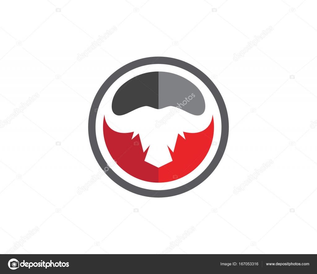 red bull taurus logo template stock vector elaelo 167053316