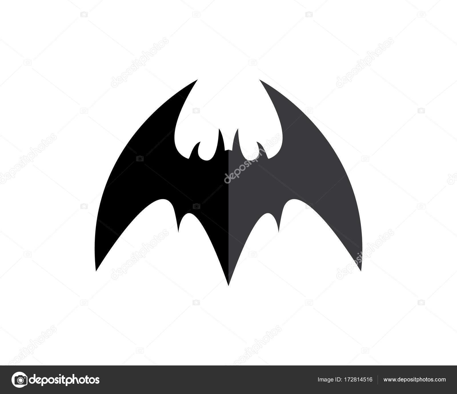 Fledermaus-Logo Vorlage — Stockvektor © elaelo #172814516