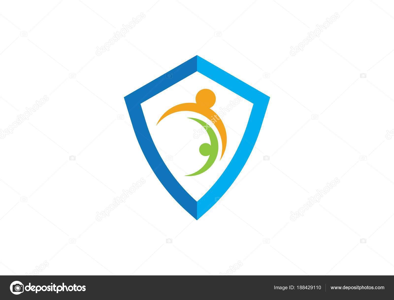 Shield logo template — Stock Vector © elaelo #188429110