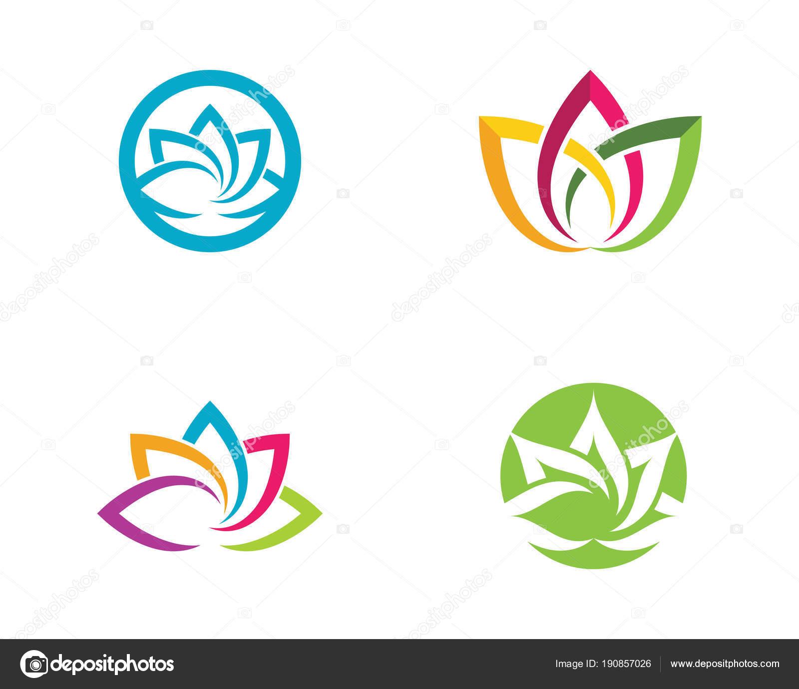 Beauty Vector Lotus Flowers Design Stock Vector Elaelo 190857026