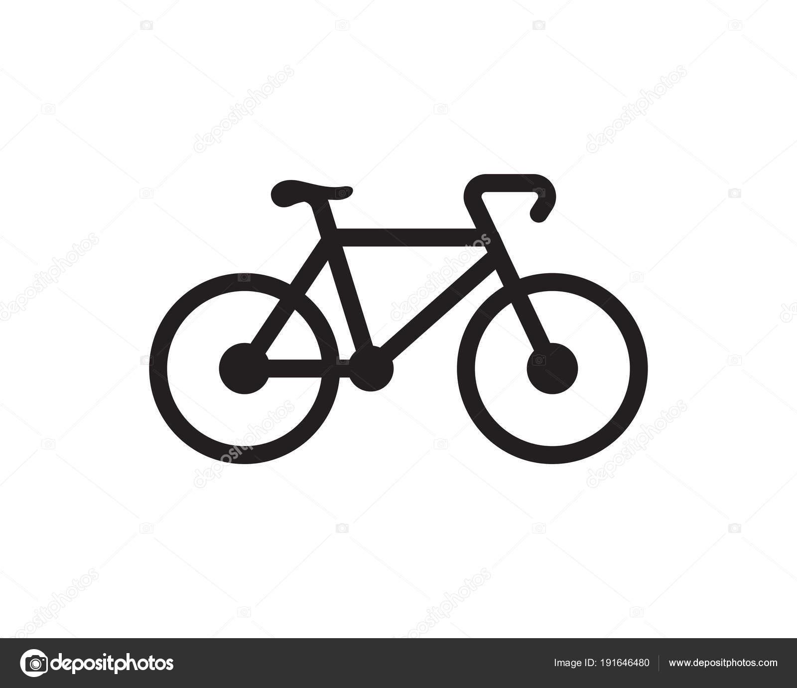 bike logo icon design template stock vector elaelo 191646480