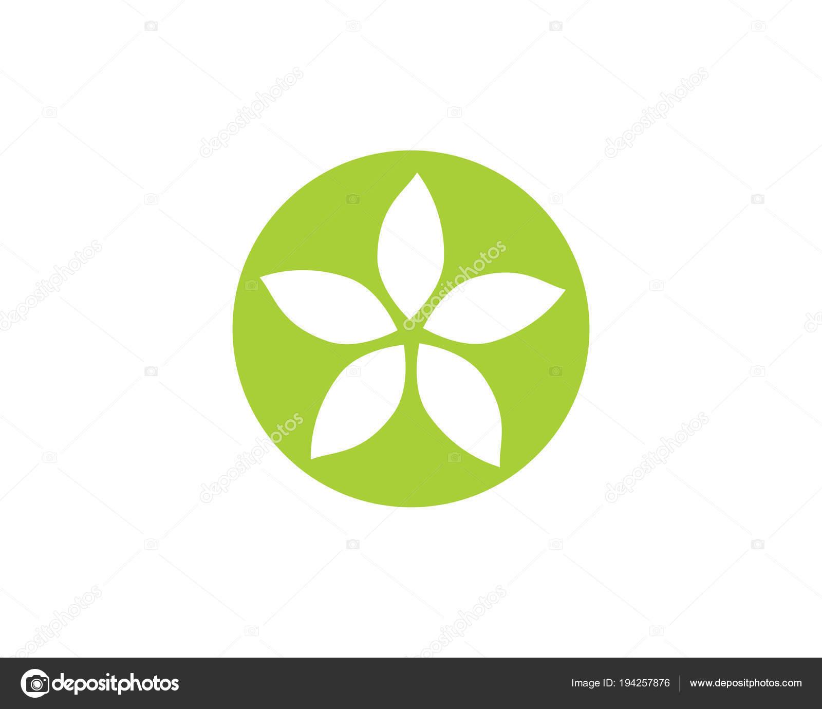 Jasmine Flower Icon Logo Template Stock Vector Elaelo 194257876