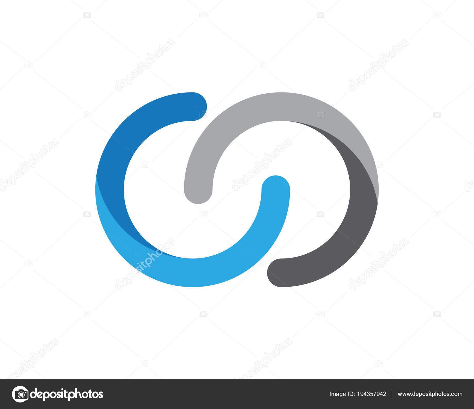 90f87143bd Modelo de design de logotipo de letra C — Vetor de Stock © elaelo ...