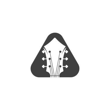 Guitar vector icon illustration