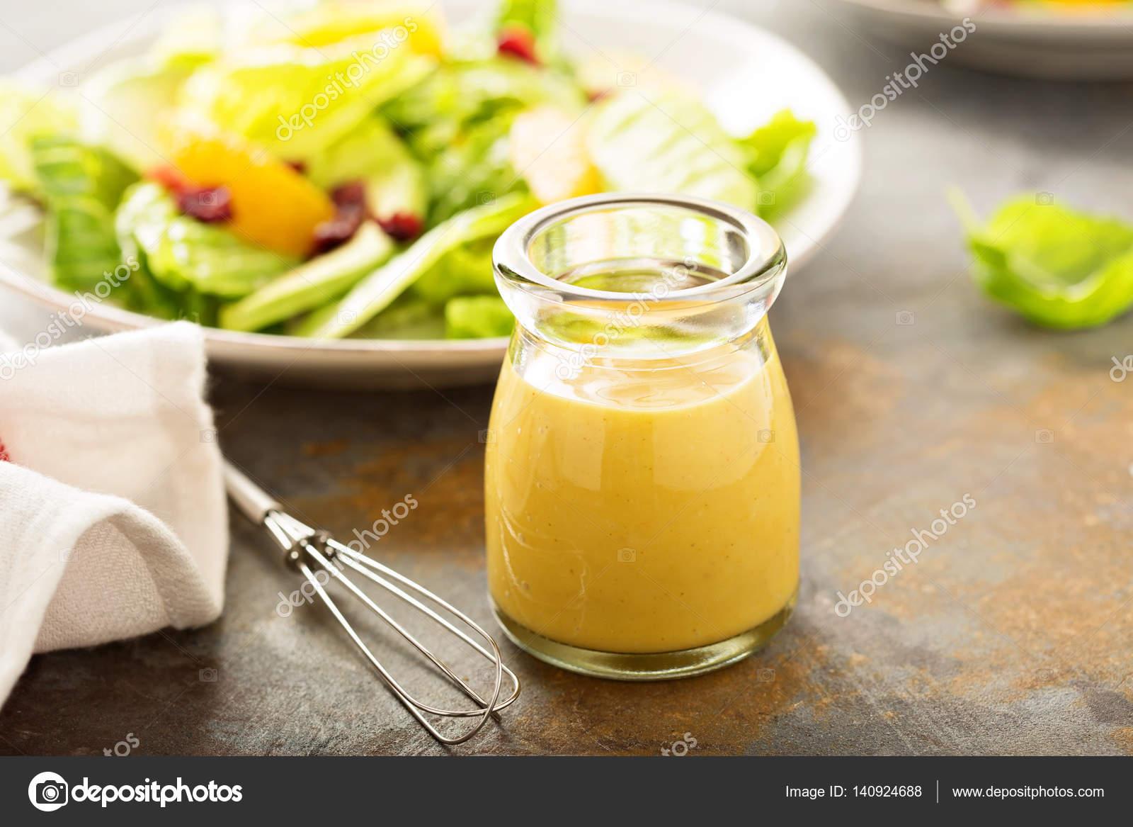 Salatdressing senf honig