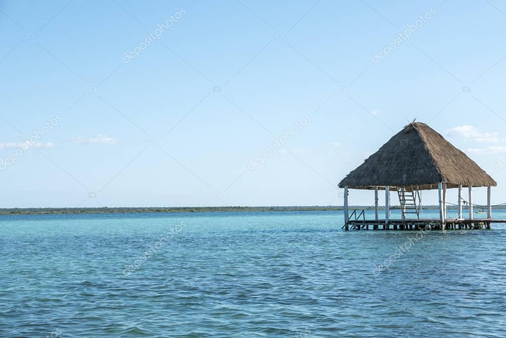 caribbean lagoon Bacalar