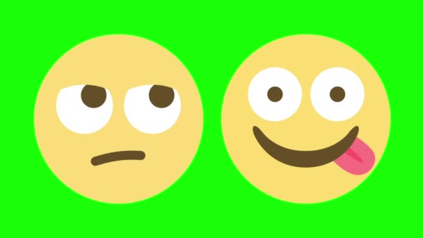 Two Emoji Animations for Indifferent and Hungry