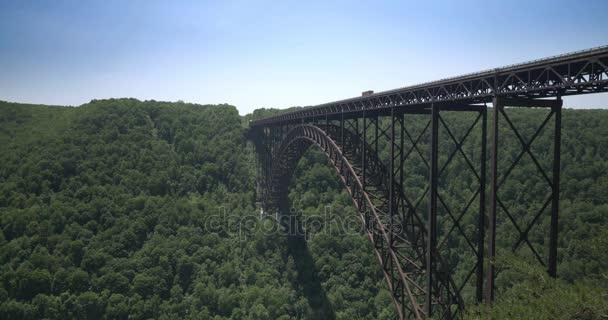 Zavedení Shot New River Gorge Bridge