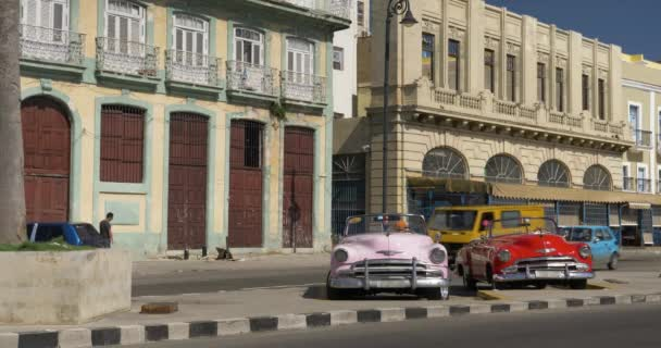 Classic Vintage Cars on the Streets of Havana Cuba