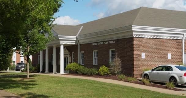 Délka dne založení Shot poštovní úřad v malé město Usa