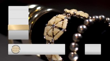 Fictional Home Shopping Television Gold Jewelry Content