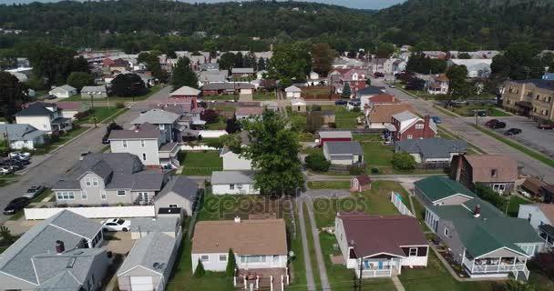 A légi felvétel a tipikus Pennsylvania lakónegyed