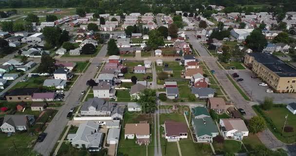 Nagy szög légi létrehozó lövés jellemző Pennsylvania környéken
