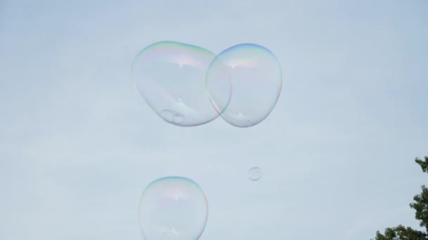 Zpomalený pohyb bubliny v Central parku