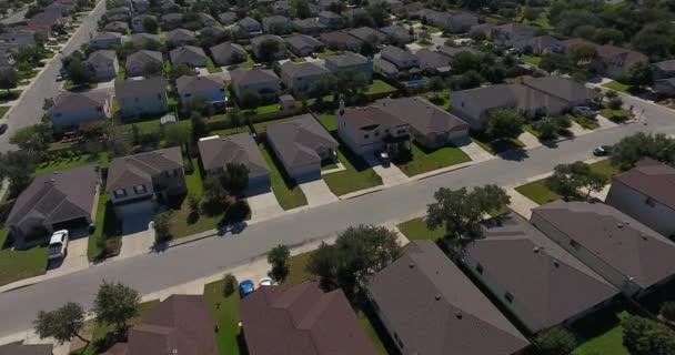 A San Antonio Texas Neighborhood nap felüljáró-antenna