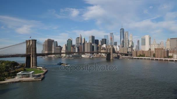 Široký stanovením Shot dolní Manhattan Skyline