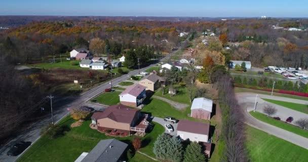 Nappali előre légi létrehozó szemcsésedik-ból Pennsylvania környéken