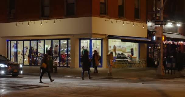Noční založení Shot Generic Manhattan baru nebo restaurace
