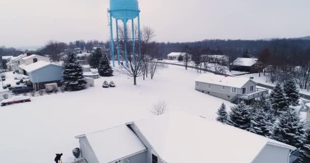 Stoupající dopředu založení záběr okolí zima