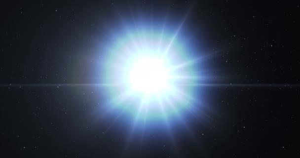 Hvězda se zhroutí vytváří velká černá díra ve vesmíru