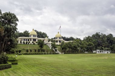 The Istana Negara at along Jalan Istana was the former residence of the Yang di-Pertuan Agong (Supreme King) of Malaysia. The Istana Negara now is Royal Museum