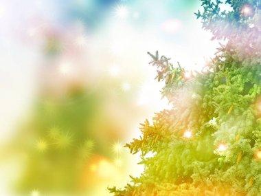 """Картина, постер, плакат, фотообои """"заснеженные деревья. рождественский фон постеры осень"""", артикул 163625686"""