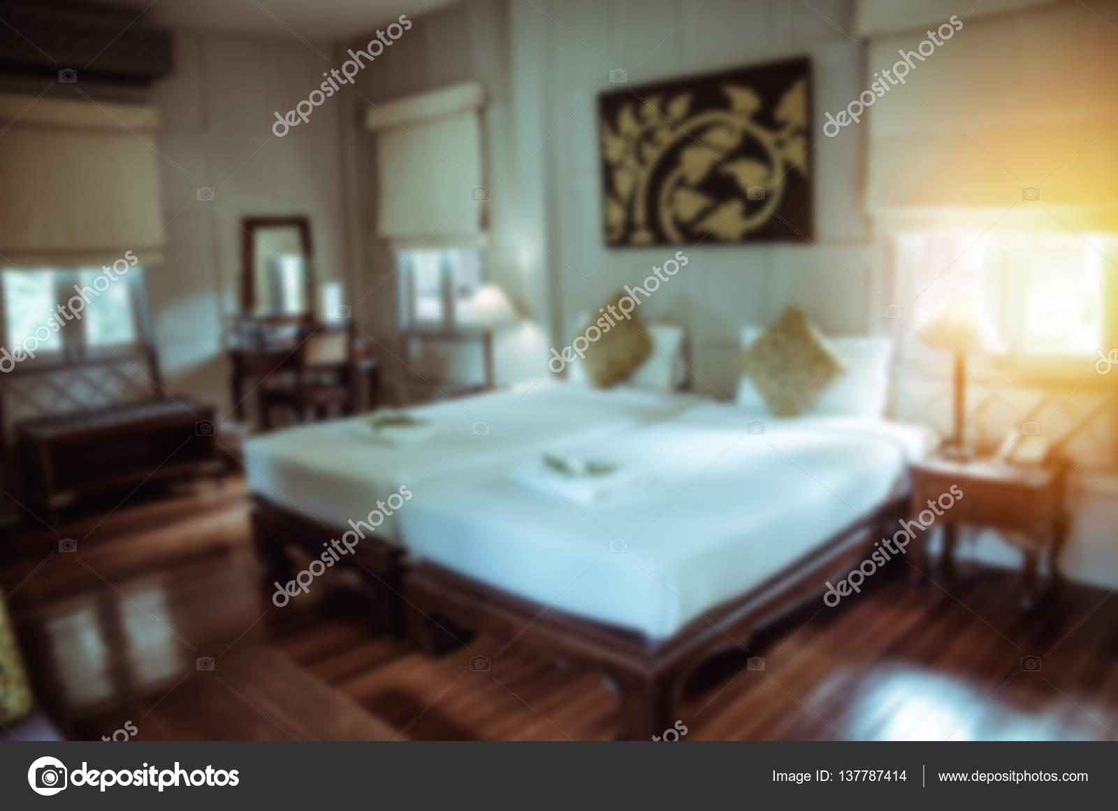 Slaapkamer Vintage Blue : Wazig slaapkamer vintage u2014 stockfoto © aoo8449 #137787414