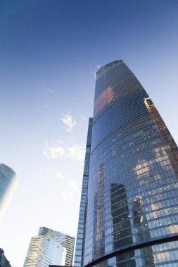 Very big skyscrapers