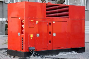 Mobile electric power generator for emergency situations.