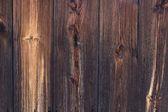 la vecchia struttura di legno con motivi naturali