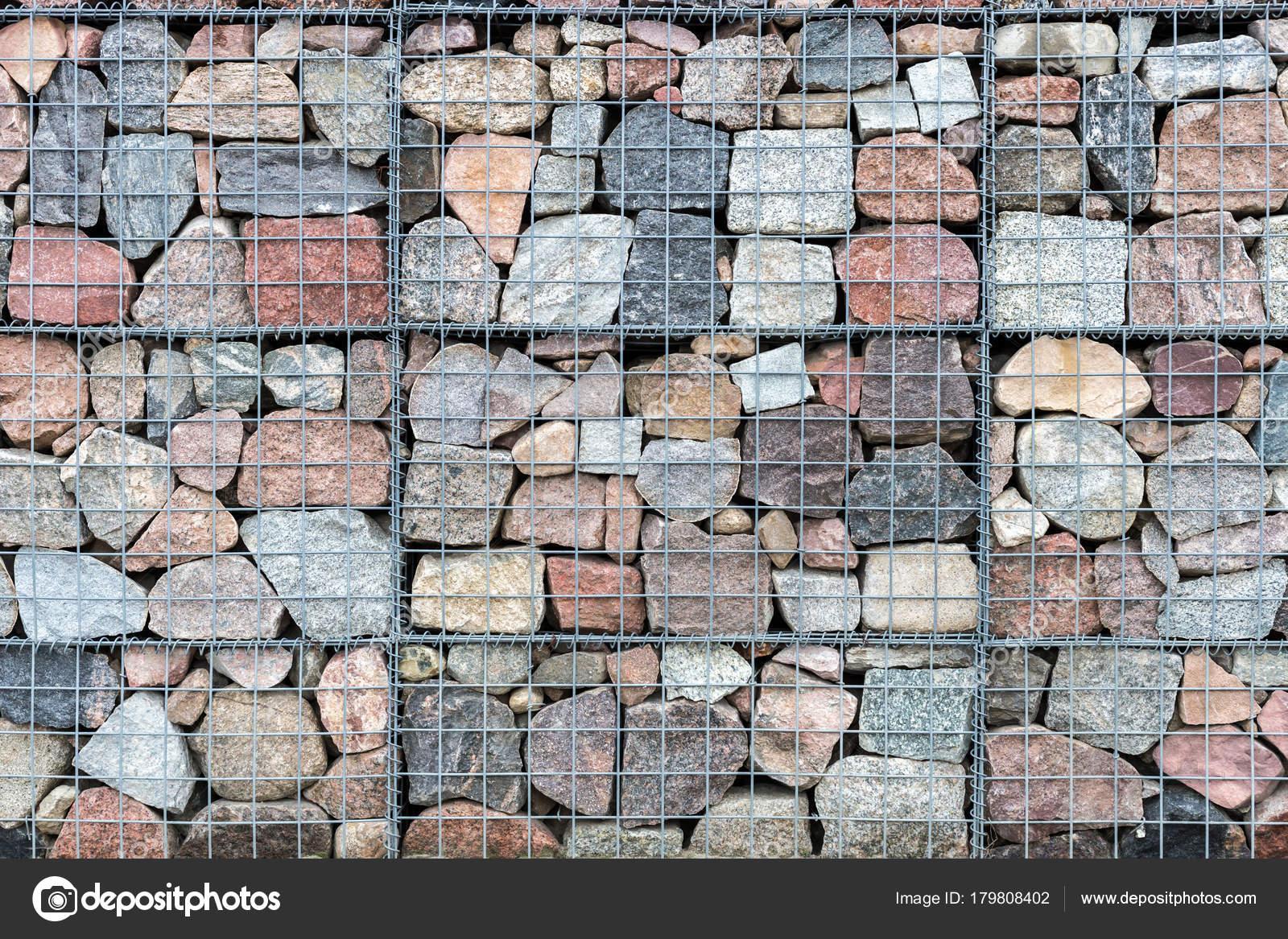 Im genes muros de piedras naturales muro de gaviones de - Muro de piedra natural ...