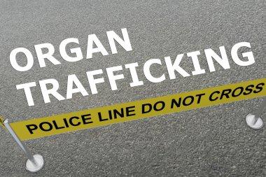 Organ Trafficking concept