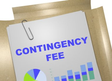 Contingency Fee - business concept