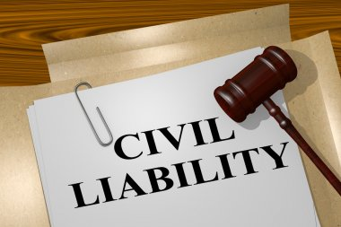 Civil Liabilitytitle on legal document