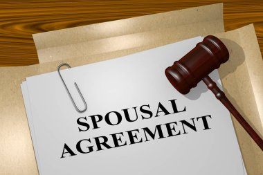 Spousal Agreement  title